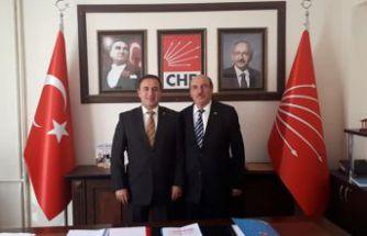 Şiran'da CHP'nin başkanlığına 4.kez Mallı seçildi
