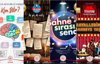 Gençler arası Kültür ve Sanat yarışmaları başvuruları başladı