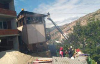 Gümüşhane İtfaiyesi 112 yangına müdahale etti