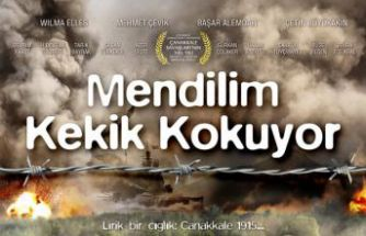 Gümüşhaneli yönetmenden farklı bir Çanakkale filmi: Mendilim kekik kokuyor