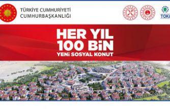 TOKİ'nin 250 konut başvuruları belli oldu