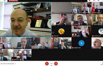 ÜNİ-DOKAP toplantısı online olarak gerçekleşti