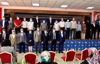 Gümüşhane'de AK Parti Merkez İlçe 7.olağan kongresi yapıldı