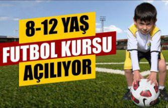 8-12 yaş futbol kursları başlıyor