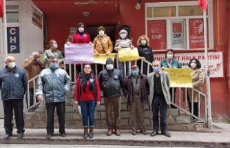 CHP'den Kadına Yönelik Şiddete Karşı Uluslararası Mücadele günü açıklaması