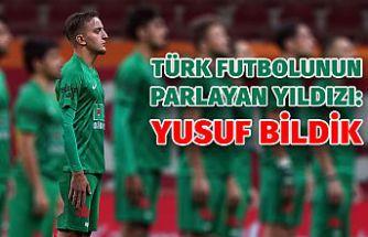 Futbolun parlayan yıldızı: Yusuf Bildik
