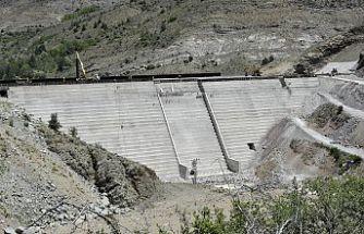 Bahçecik Barajı'nın gövde yüksekliği yüzde 75'e ulaştı
