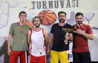 3x3 Sokak Basketbolu Turnuvası Sona Erdi