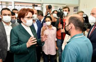 İYİ Parti Genel Başkanı Meral Akşener Gümüşhane'de