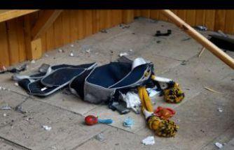 Gümüşhane'de şüpheli çantada elbise ve oyuncak çıktı