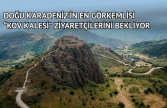 Doğu Karadeniz'in en görkemli kalesi ziyaretçilerini bekliyor
