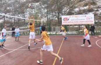 Sema Doğan Parkı Spora Açılıyor