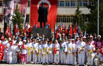 Gümüşhane'de 19 Mayıs kutlamaları