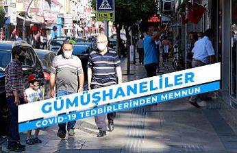 Gümüşhane'de vatandaşlar yeni Covid-19 tedbirlerinden memnun