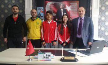 Şahin ve Yalçınkaya Avrupa şampiyonluğu için mücadele edecek