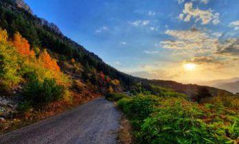 Gümüşhane dağları rengarenk
