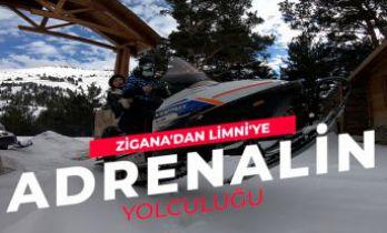 Zigana'dan Limni'ye adrenalin yolculuğu
