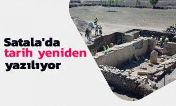 Satala Antik Kentindeki kazılarda 5 bin yıllık bulgulara rastlandı