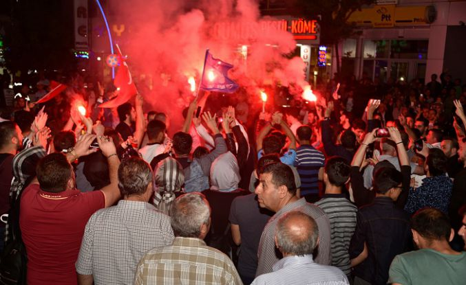 Gümüşhane'de rekorla gelen 'Başkan Erdoğan' sevinci