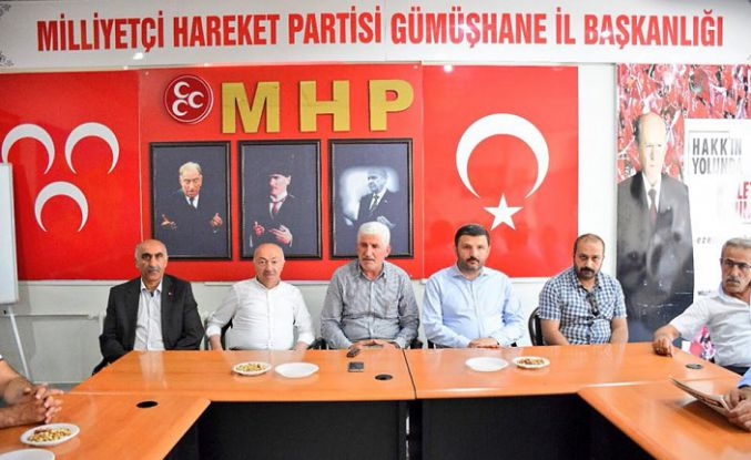 AK Parti heyetinden MHP'ye ziyaret