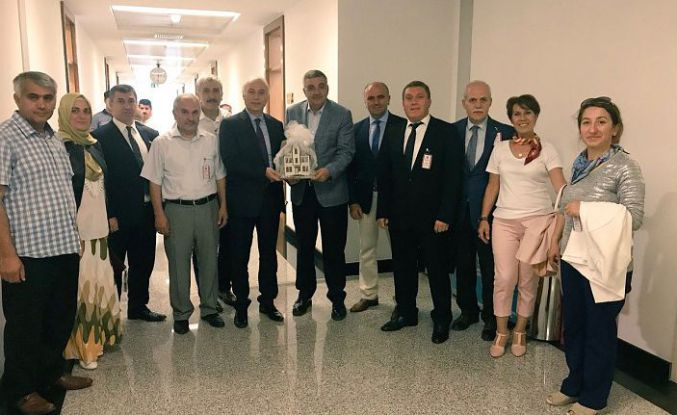 GÜBDER'den Milletvekillerine hayırlı olsun ziyareti