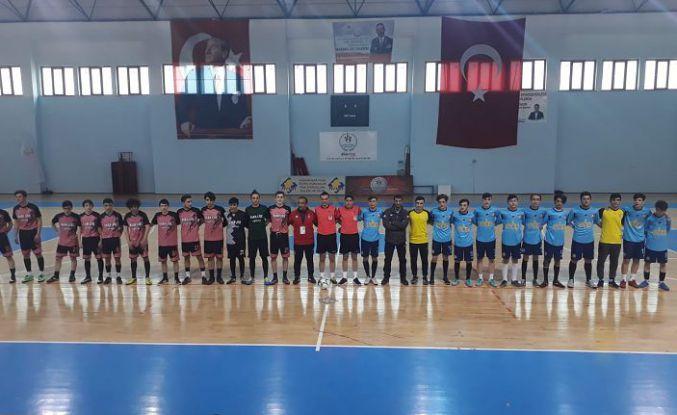 Okullararası genç erkekler Futsal müsabakaları tamamlandı