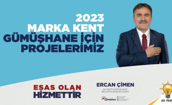 Başkan Çimen, 2023 vizyon projelerini açıkladı