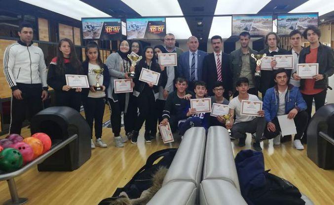 Bowling yarışmaları tamamlandı