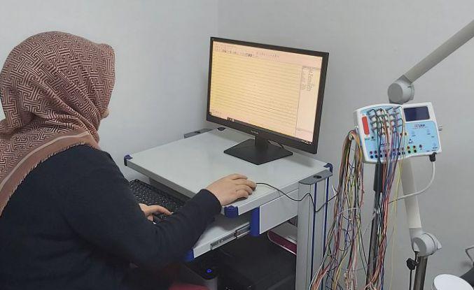 Yeni EEG cihazı hizmet vermeye başladı