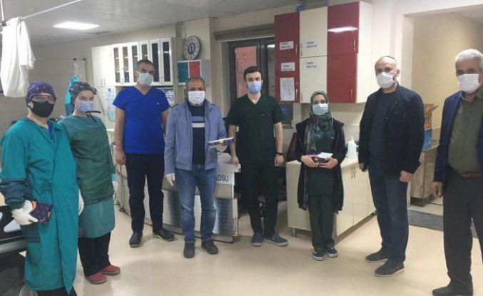 Gümüşhane pestili Konya'da sağlık çalışanlarına enerji oldu