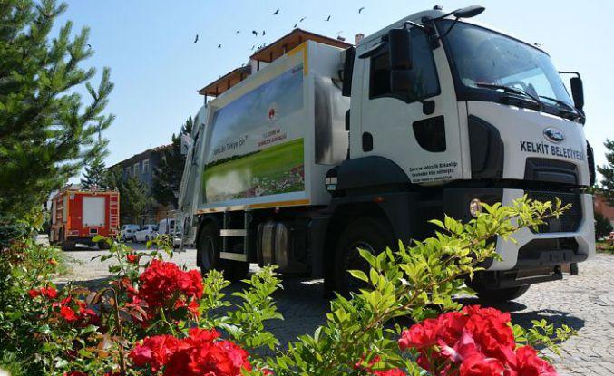 Kelkit Belediyesinin araç filosu genişliyor