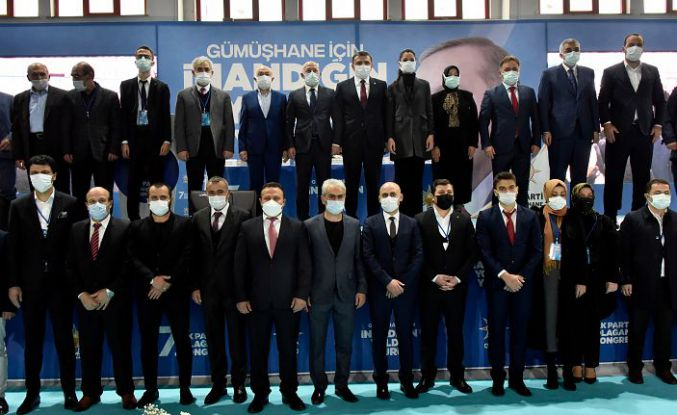 AK Parti Gümüşhane 7.olağan il kongresi yapıldı