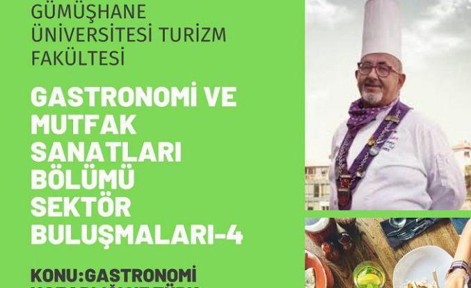 Gastronomi söyleşisine dünyaca ünlü gurme Haldun Tüzel konuk oldu
