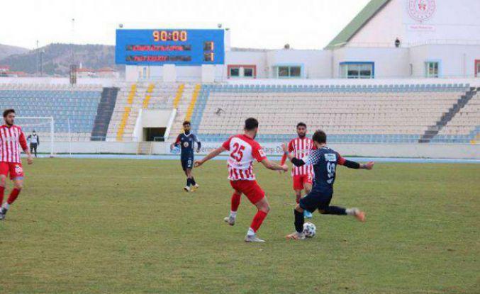 Kaplanlar Kırıkkale'den zirveye kondu: 1-1