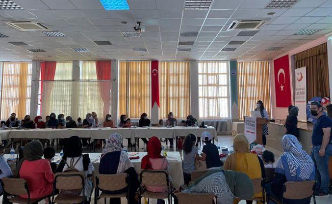 Göçmenlerle 'Kadın Buluşmaları' programı