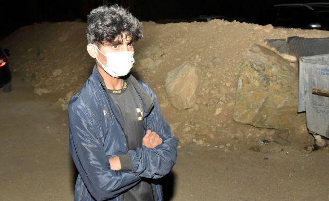 Van'dan yola çıkan Covid-19 hastası Afgan genç Gümüşhane'de karantinaya alındı