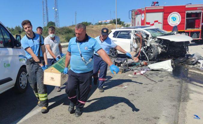 Tekirdağ'dan çok acı haber: 3 ölü, 1 yaralı