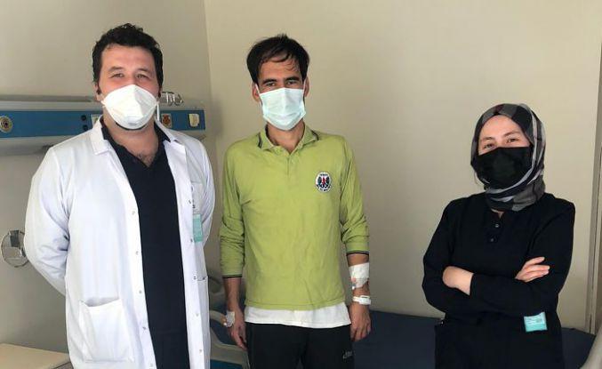Gümüşhane Devlet Hastanesinde bel kırığı ameliyatı yapıldı