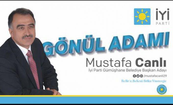 Gönül adamı Mustafa Canlı