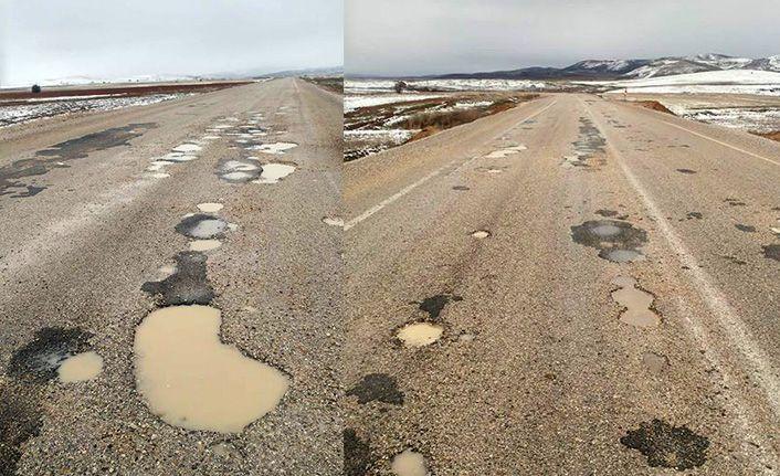 Köse-Bayburt yolu asfalt bekliyor