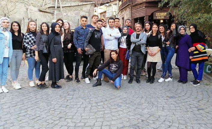 GÜ'lü öğrenciler Erzurum Gıda ve Yöresel Lezzetler Fuarına Katıldı