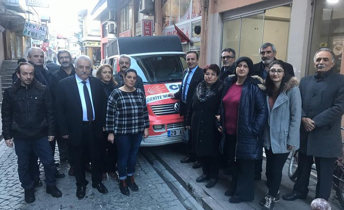 CHP'den Elazığ'a yardım eli