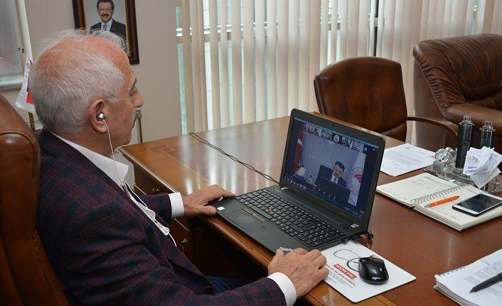 GTSO Başkanı Akçay Tarım Bakanı Pekdemirli ile görüştü