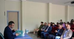Doç. Dr. Fatih Yalçın öğrencilerle buluştu