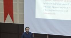 GÜ'de 'Haydi Liselileri Bilinçlendirelim' projesi gerçekleştirildi