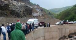 Gümüşhane'de trafik kazası: 1 ölü