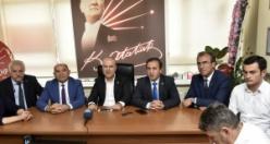 CHP Milletvekilleri Tarhan ve Bakan Gümüşhane'de