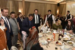 Sağlık çalışanları birlik-beraberlik yemeğinde buluştu