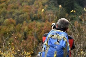 Gümüşhaneli dağcılar, Örümcek Ormanlarında renk cümbüşü içerisinde doğa yürüyüşü gerçekleştirdi