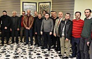 Başkan Aygün Gazeteciler Gününde gazetecilerle...